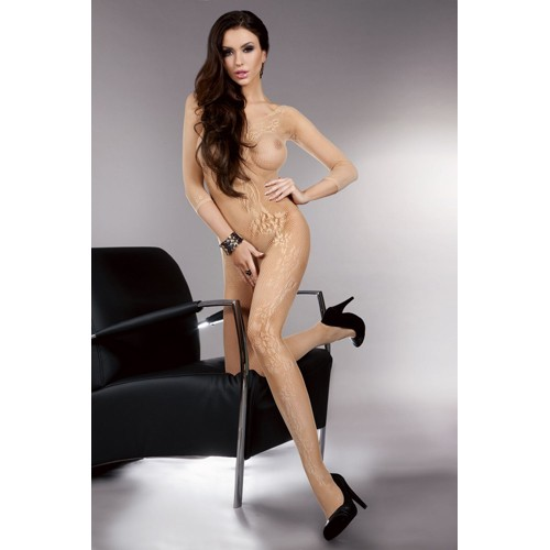 Catsuit Khryseis in Beige